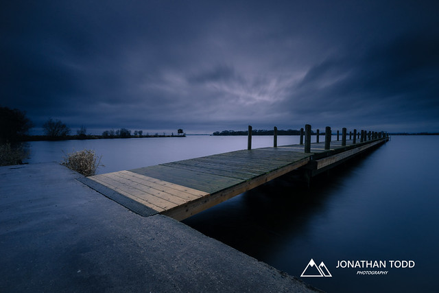 Oxford Island Jetty. County Armagh, Northern Ireland.