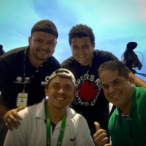 Cobertura de Futebol com qualidade está aqui!!!!! #amigos #dueloDeAudencia #jornalismoesportivo #sóFeras
