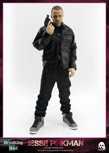 threezero 絕命毒師。第二彈【傑西.平克曼】Jesse Pinkman 1/6 比例人偶作品