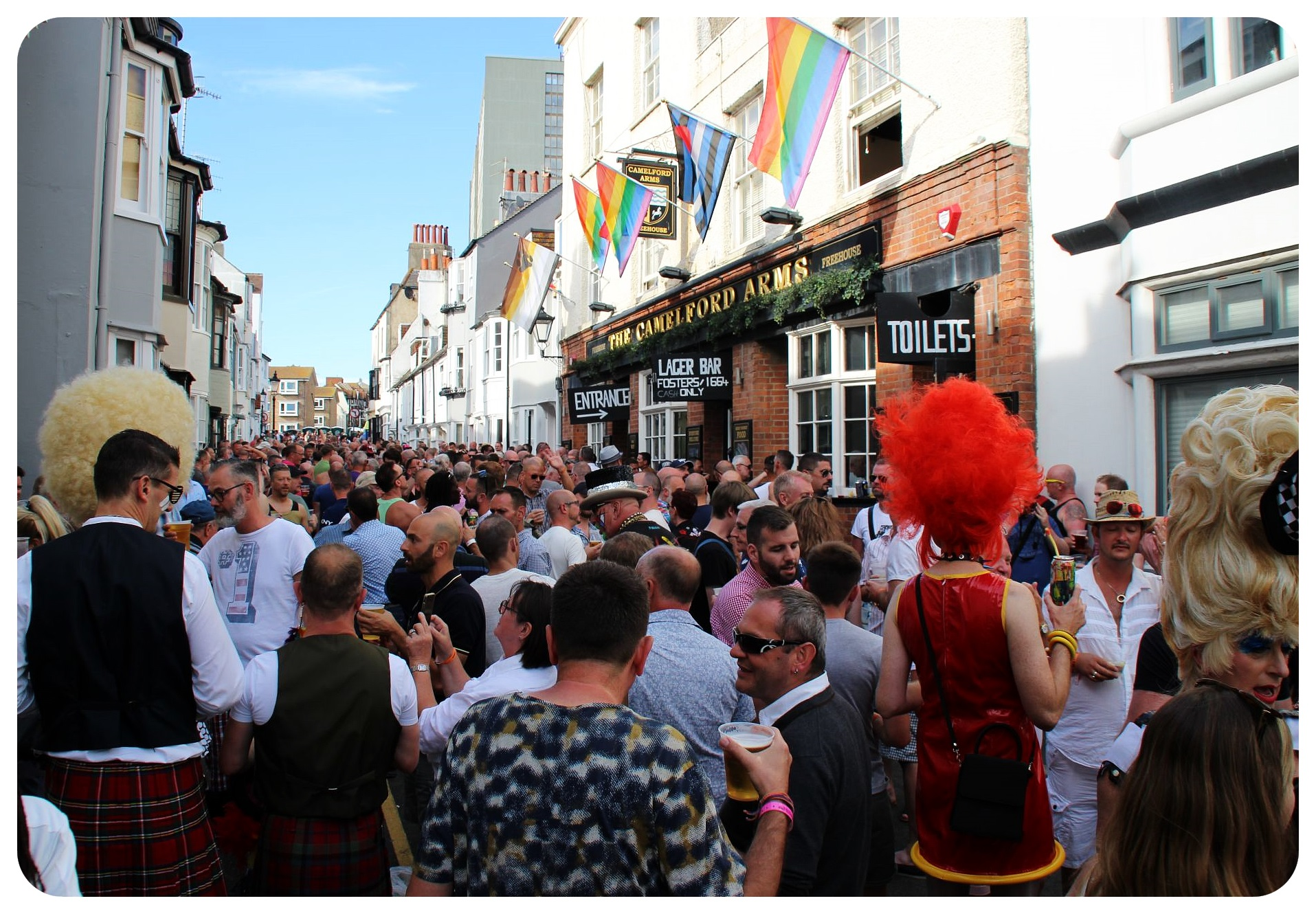 brighton pride fest 2015 bar