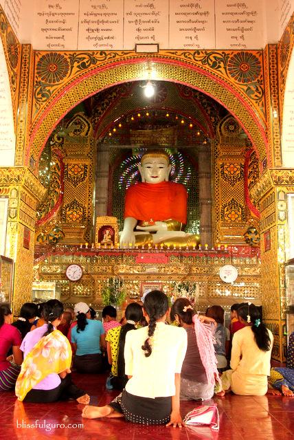 Su Taung Pyi Pagoda Mandalay Myanmar
