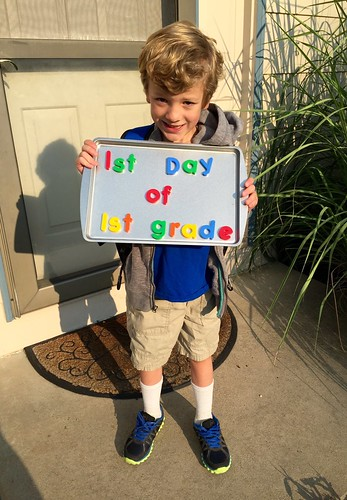 1st day of 1st grade