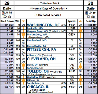 amtrak capitol limited schedule pdf