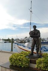 Tarpon Springs, FL - Sponge Docks - Sponge Diver Monument