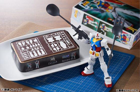 追加兩款特殊武器!鋼彈模型 35週年紀念蛋糕~