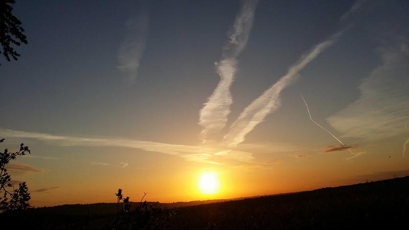 Sunrise from camp #sh