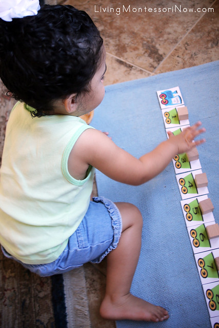 Counting the Number Train at 22 Months