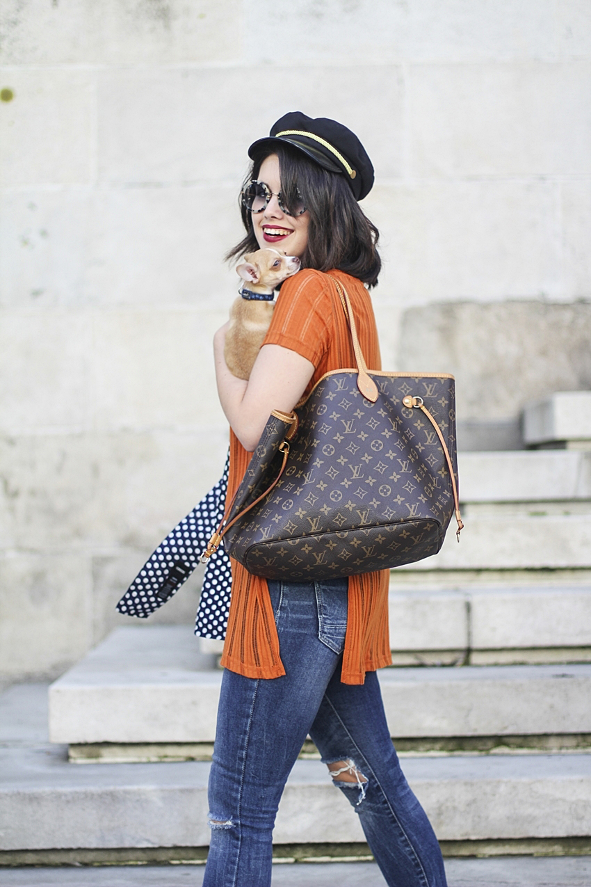 myblueberrynightsblog tendencia skinny scarf como combinar