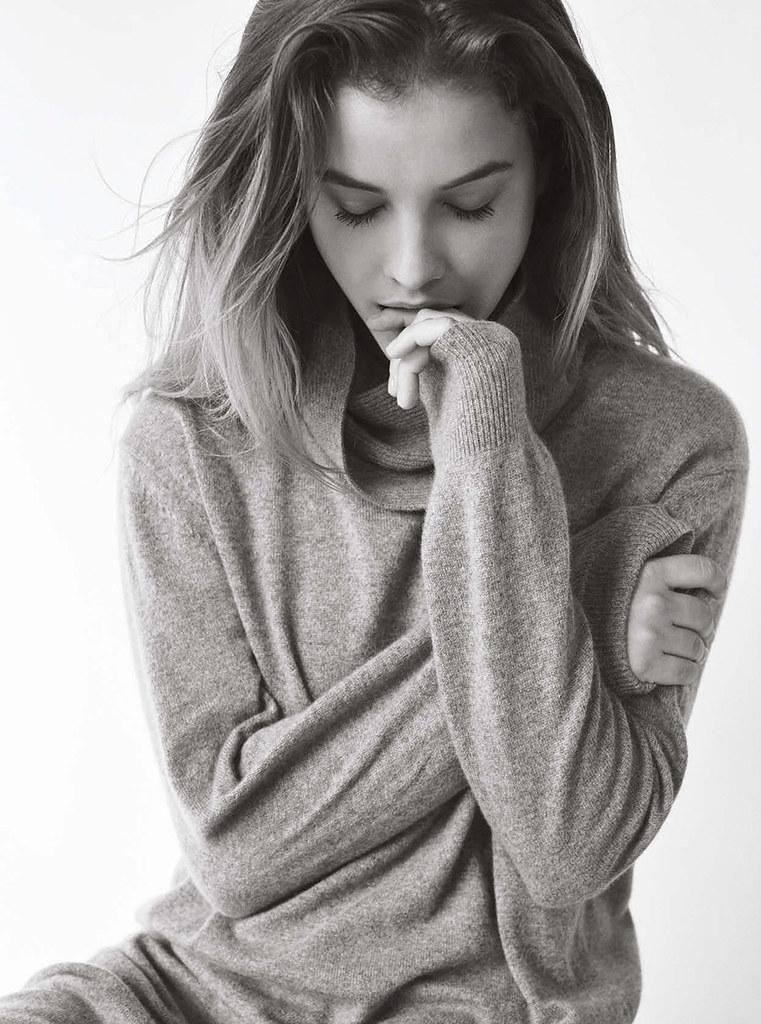 Барбара Палвин — Фотосессия для «Elle» HU 2015 – 5