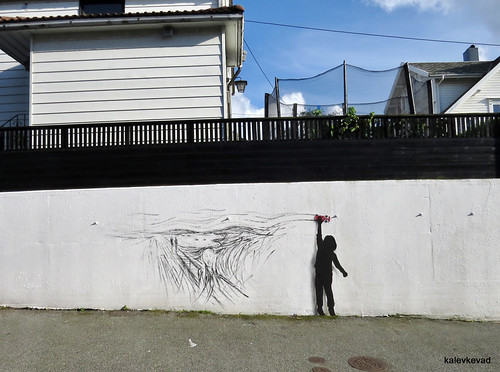 Artwork by Pejac