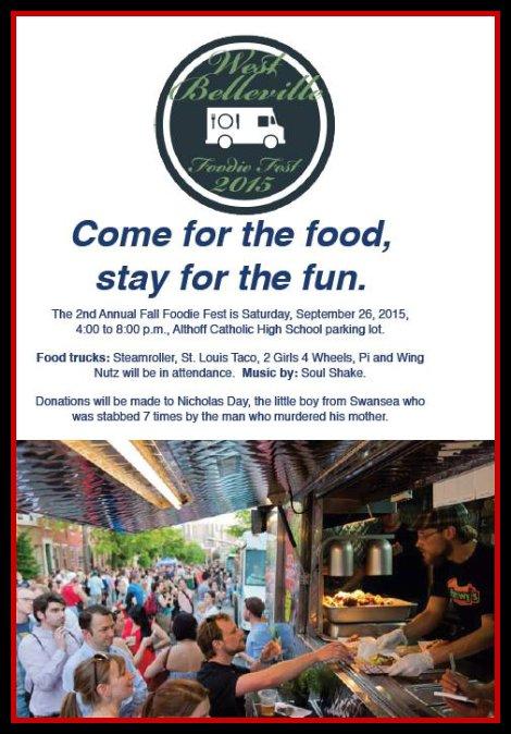 Fall Foodie Fest 9-26-15