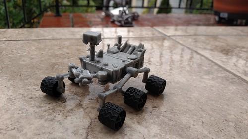3D Printing - Curiosity Rover