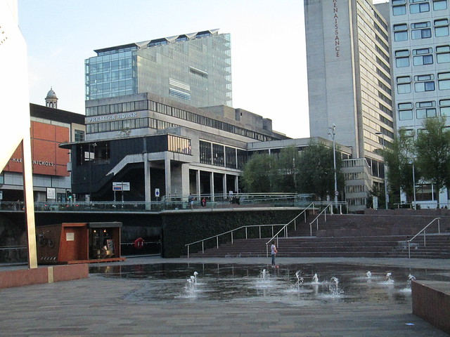 Fountains in Salford