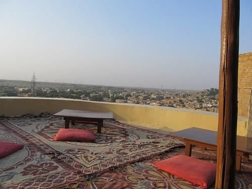 Resto dans le fort de Jaisalmer