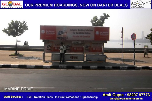 Bus shelter ad solution in mumbai - Global Advertisers