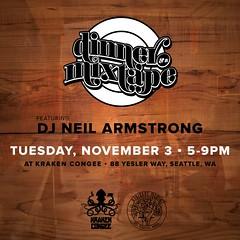 11/3 - Tuesday - Dinner & A Mixtape Seattle @ Kraken Congee