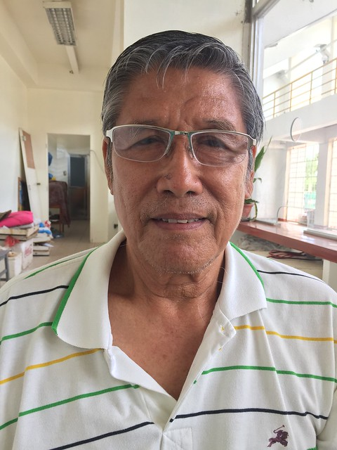 Bogo City Civic Center caretaker Emmanuel A. Tariman