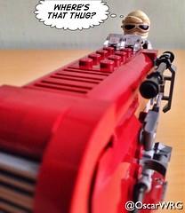 #LEGO #StarWars #Rey #Speeder #LEGOstarWars #thug #Jakku @lego_group @lego @bricknetwork @brickcentral @starwars