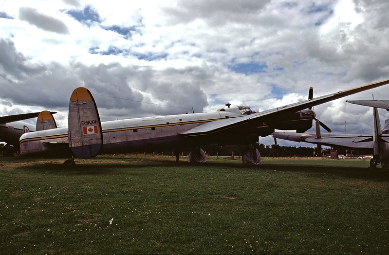 Avro Lancaster B Mk.X KB786 - Strathallan