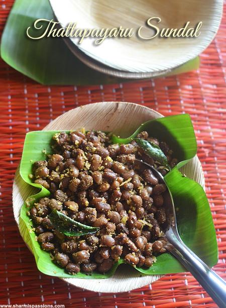 Thattapayaru Sundal Recipe