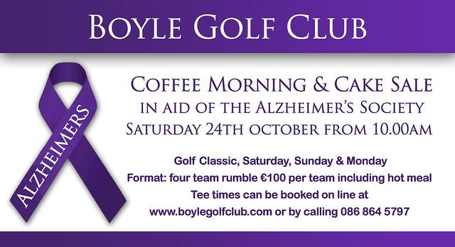 Boyle Golf Club Coffee Morning
