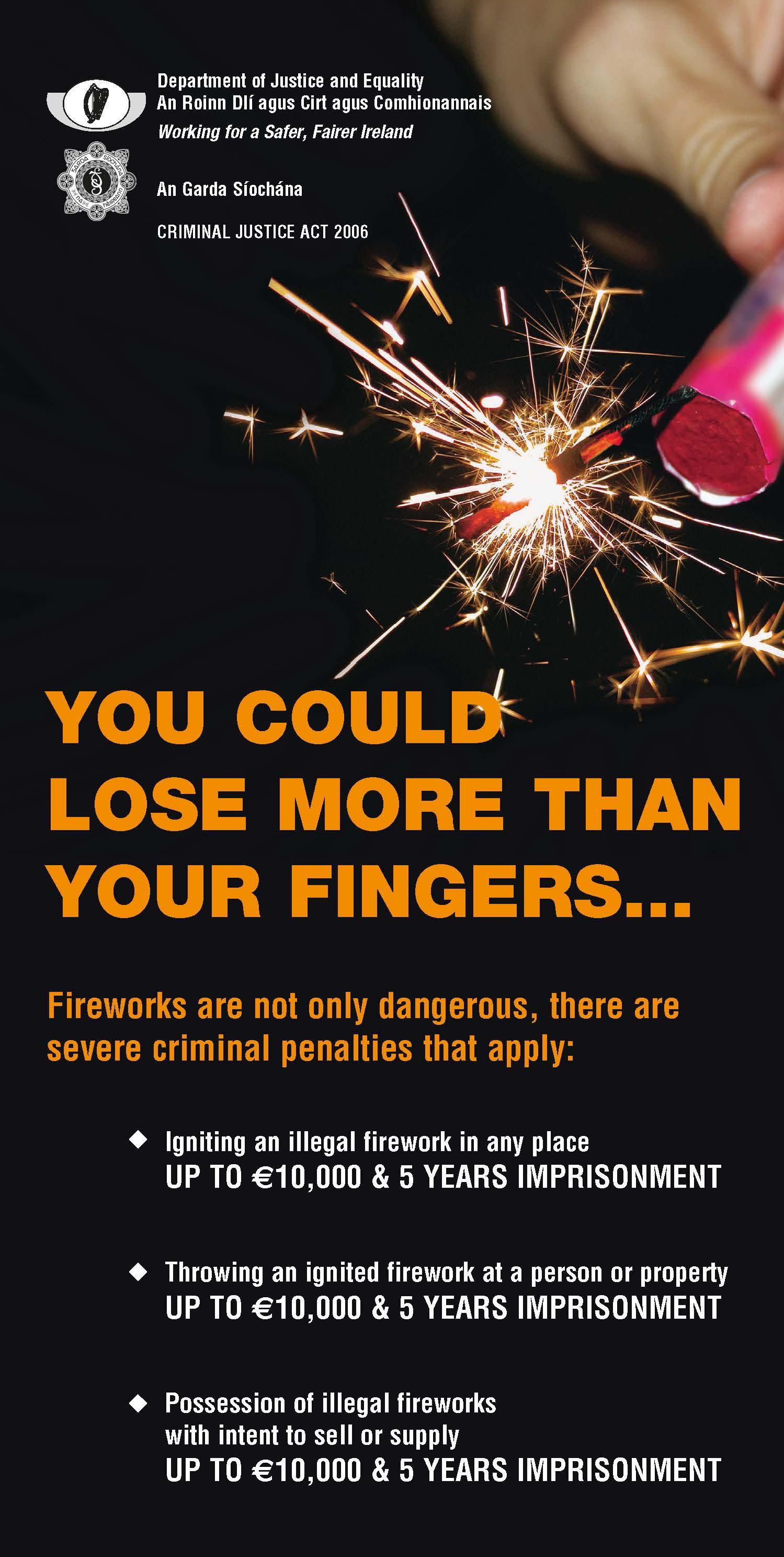 Fireworks Information Notice