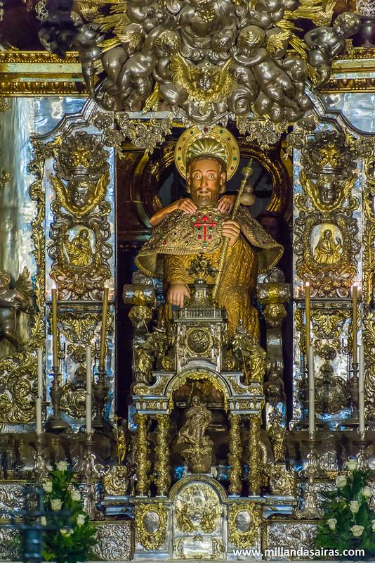 Figura de Santiago en la Capilla Mayor