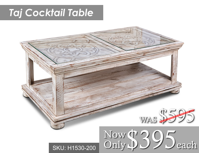 Taj Cocktail Table