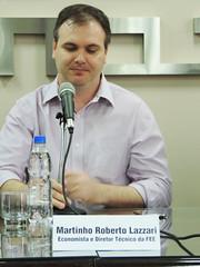 Panorama Internacional FEE | 2ª edição - Painel 25 anos do Mercosul - dez/2015 - Martinho Lazzari