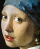 Johannes Vermeer - The Girl with a Pearl Earring (Meisje met de parel) (Detailed) at Royal Picture Gallery Mauritshuis - The Hague Netherlands