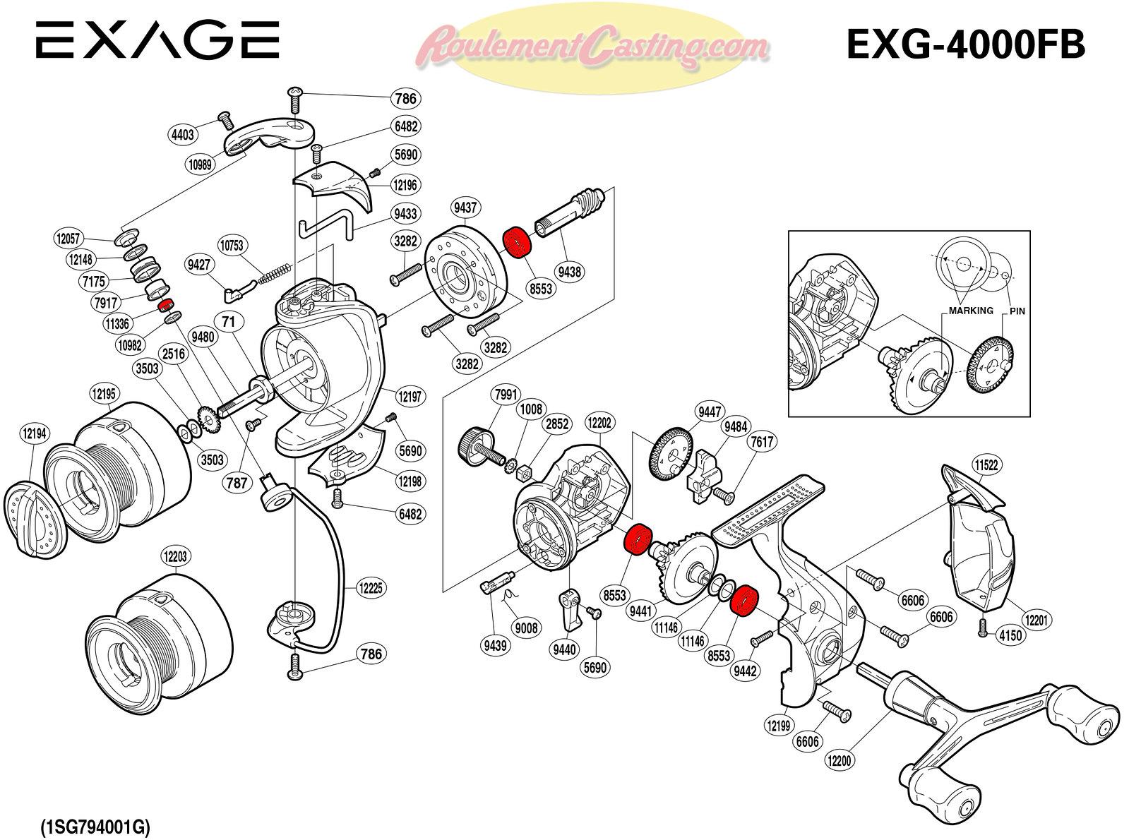 Schema-Shimano-EXAGE-4000FB