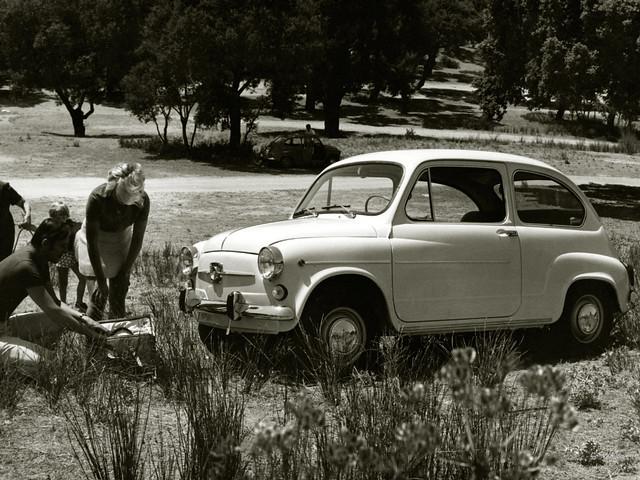 SEAT 600 1957 модельного года