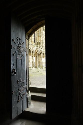 Through the Half Open Door