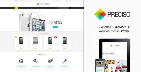 Themeforest Preciso Shopfront v1.5 - WooCommerce Theme