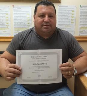 Inoel Borges - Testimonio sobre Municipal Credit Service Corp