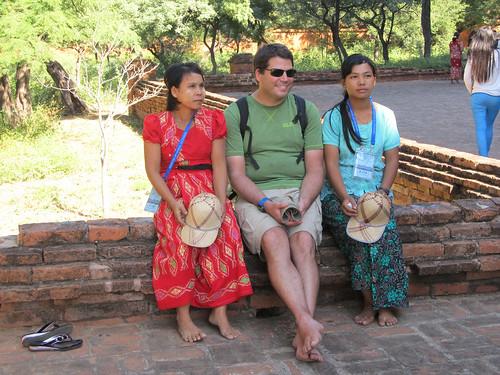 Bagan: Mister J, la star des Birmans