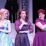 Irving Berlin's White Christmas - Arvada Center Photo P. Switzer Photography 2015 - Pictured L-R: Erica Sweany (Judy Haynes), Lauren Shealy (Betty Haynes) and Sharon Kay White (Martha Watson)