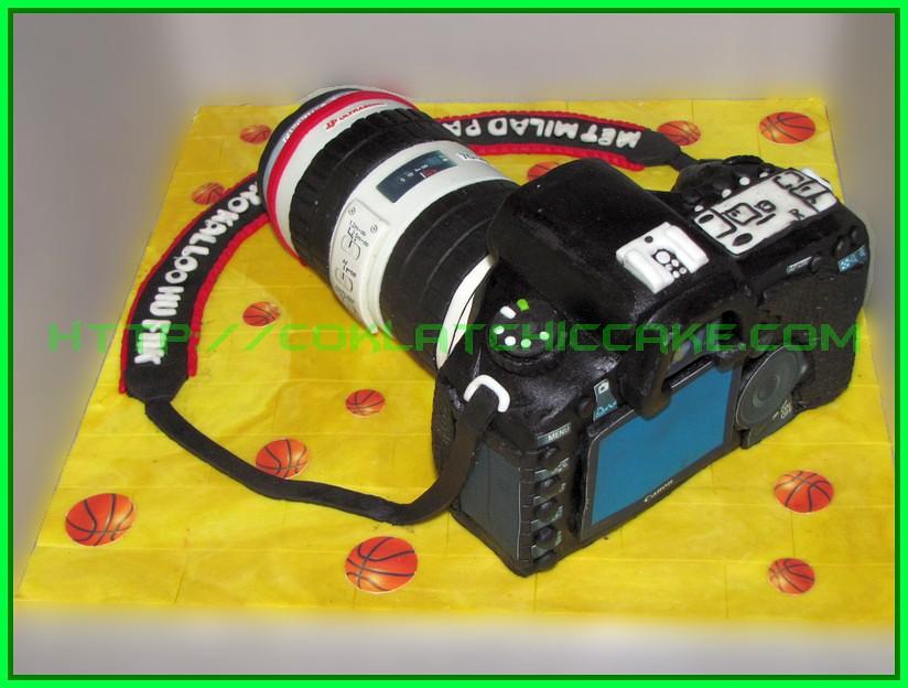Cake Canon EOS 5D long tele