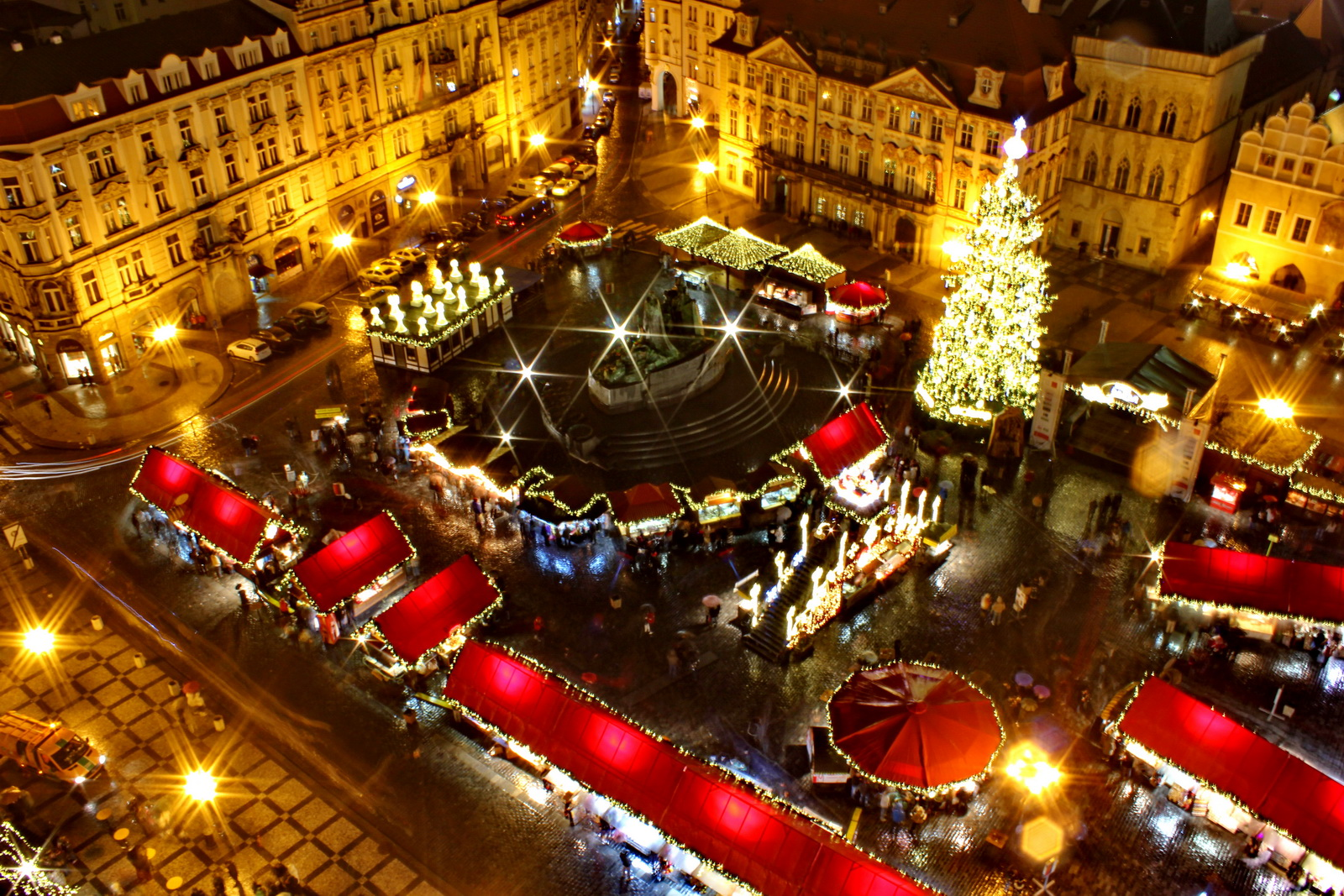 Christmas market in Prague, Czech Republic Credit Vlasta Juricek