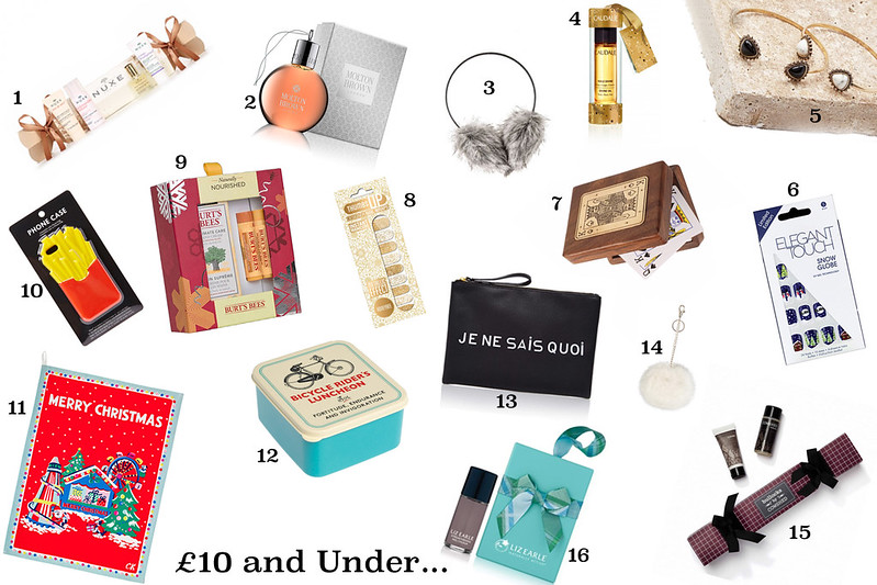 Sam Muses' 2015 Secret Santa and Stocking Filler Gift Guide - £10 and Under; Gift Ideas, Presents