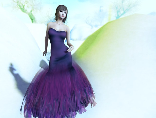 *FLOWERDREAM CREATION Ella purple New!