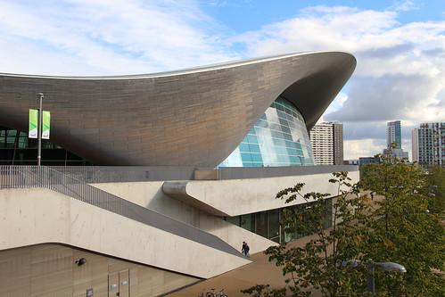 London - QE Olympic Park: London Aquatics Centre