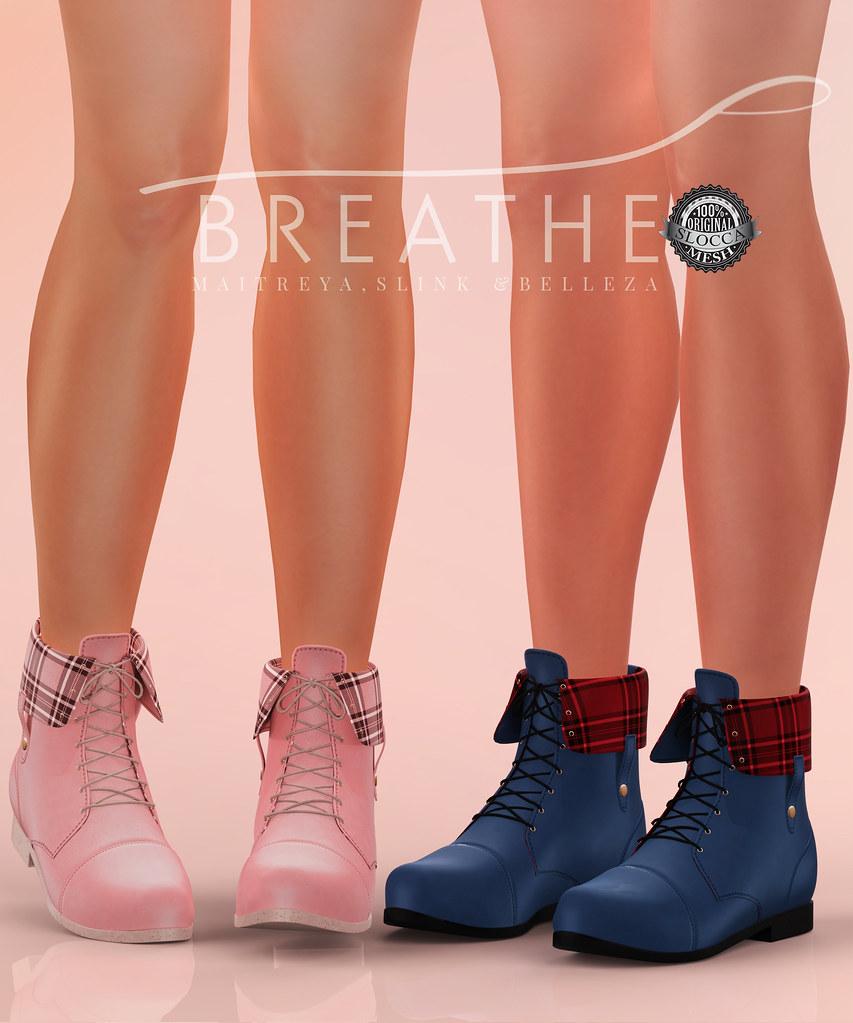 [BREATHE]-Kenzie Boots - SecondLifeHub.com