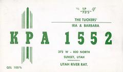Utah River Rat - Sunset, Utah