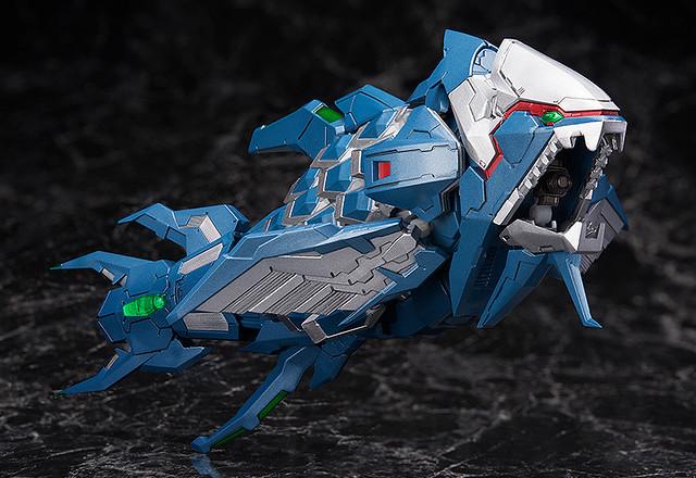 figma《太空戰鬥機 奔雷行動 CS》Iron Fossil(アイアンフォスル)、Knight Fossil(ナイトフォスル)