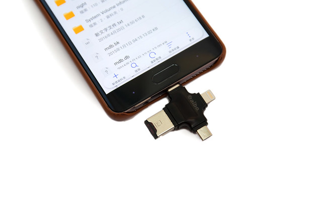 四合一 OTG 讀卡機 Lightning + USB + MicroUSB + Type C @3C 達人廖阿輝