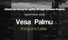 Unlock the enterprise agility through software projects - interview with Vesa  Palmu, Netguru Labs