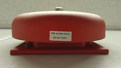 Wheelock fire alarm bell