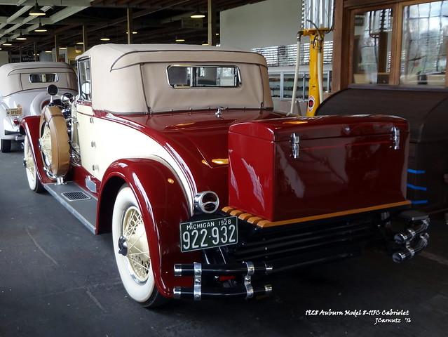 1928 Auburn Model 8-115C Cabriolet