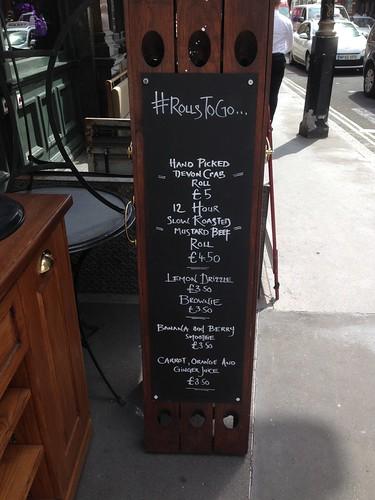 rollstogo newman street tavern